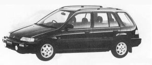 HONDA CIVIC SHUTTLE 1990 г.