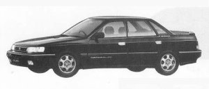 SUBARU LEGACY 1990 г.