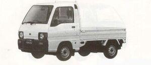 SUBARU SAMBAR TRUCK 1990 г.