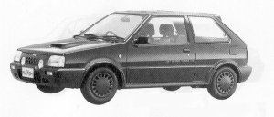 NISSAN MARCH 1991 г.