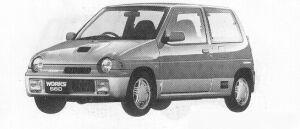 SUZUKI ALTO WORKS 1991 г.