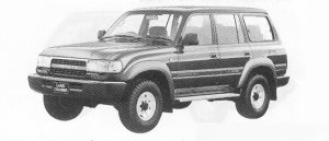 TOYOTA LAND CRUISER 1991 г.