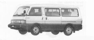 MAZDA BONGO 1991 г.
