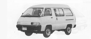 TOYOTA TOWNACE 1991 г.