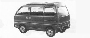 MITSUBISHI BRAVO 1991 г.
