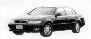 TOYOTA ARISTO 1992 г.