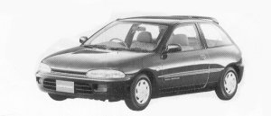 MITSUBISHI MIRAGE 1992 г.