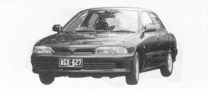 MITSUBISHI LANCER 1992 г.
