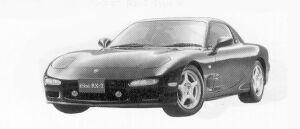 MAZDA EFINI RX-7 1992 г.