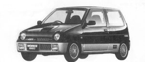 SUZUKI ALTO WORKS 1992 г.