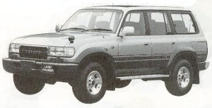 TOYOTA LAND CRUISER 1992 г.