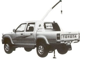 TOYOTA HILUX 1992 г.