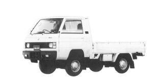 MITSUBISHI DELICA TRUCK 1992 г.
