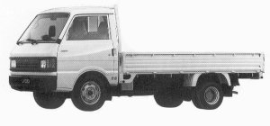 MAZDA FORD TRUCK 1992 г.