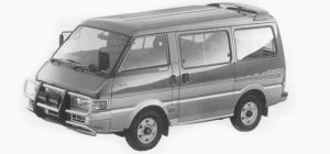 MAZDA FORD SPECTRON 1993 г.