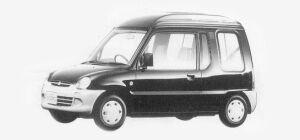 MITSUBISHI MINICA TOPPO 1993 г.