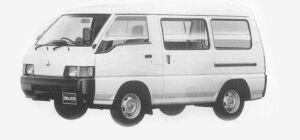 MITSUBISHI DELICA 1993 г.