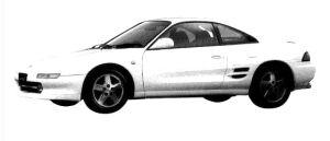 TOYOTA MR-2 1997 г.