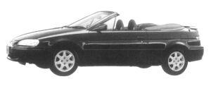 TOYOTA CYNOS 1997 г.