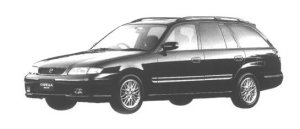 MAZDA CAPELLA WAGON 1998 г.