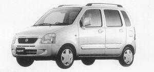SUZUKI WAGON R PLUS 1999 г.