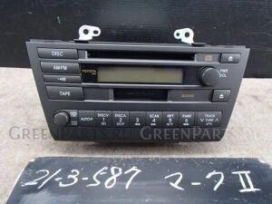 Автомагнитофон на Toyota Mark II JZX110 1JZ-FSE