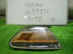 Поворотник к фаре на Toyota Mark II GX100 22-276