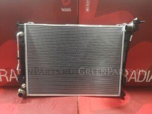 Радиатор двигателя на Hyundai Sonata YF G4KD