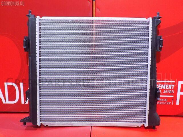 Радиатор двигателя на Kia CEED ED