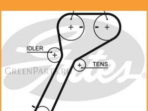 Ремень грм на Mazda Bt-50 UN, UN8F1, ES, ET, EU, F90, R90