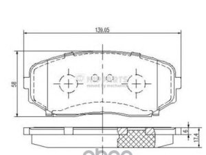 Колодки тормозные на Mazda Cx-7