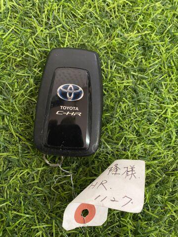 Ключ зажигания на Toyota C-HR ZYX10 2ZR-FXE
